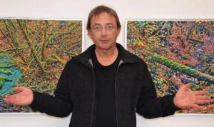 """""""Das Erleben von Kunst gehört zu meinen frühesten bewussten Grenzerfahrungen"""", sagt Markus Bydolek. Foto: Rainer Breuer"""