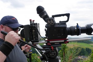 Professionelles Equipment für professionelle Videos. Foto: Jimi Berlin