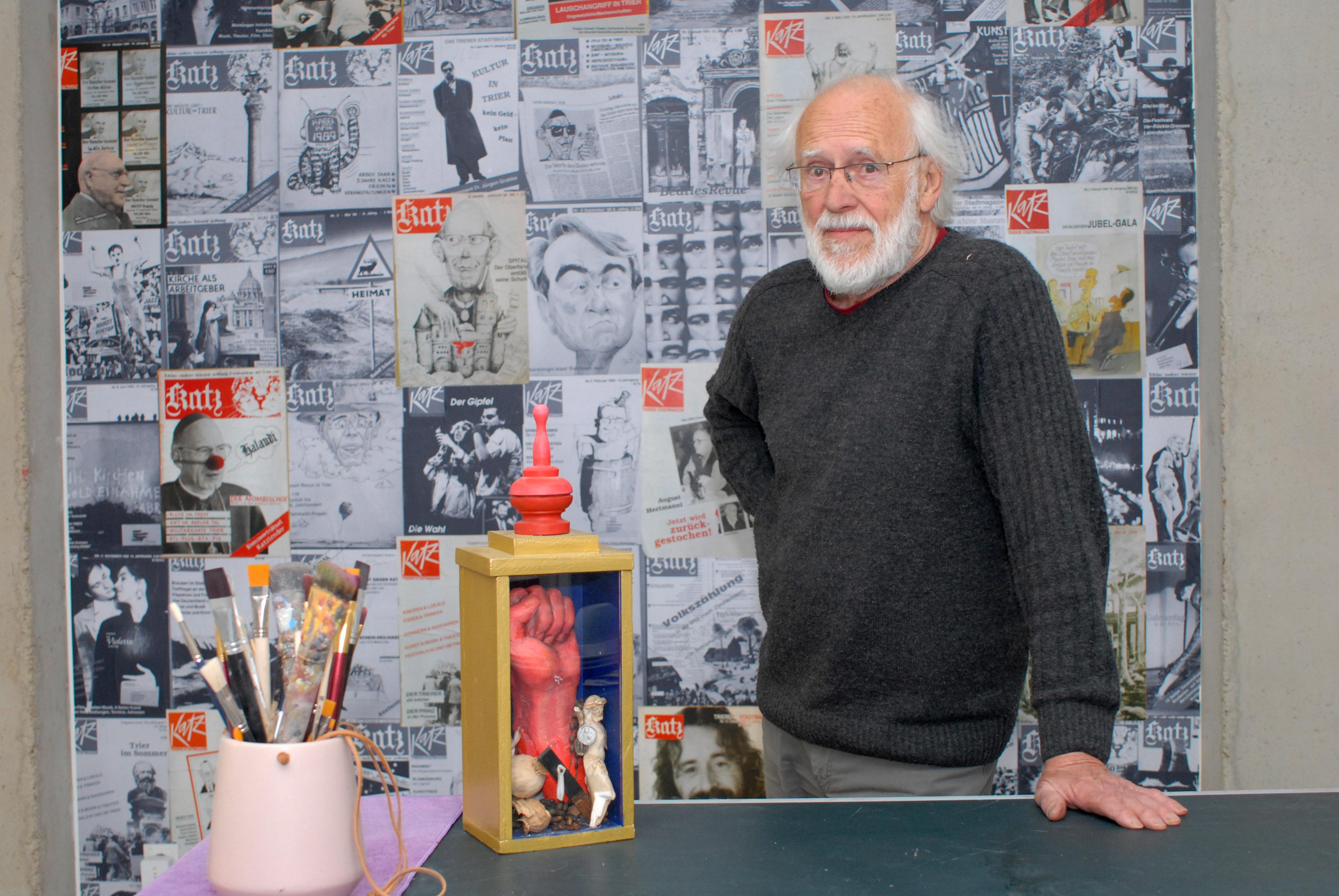 Ausstellung Helmut Schwickerath